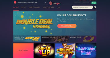 betspin casino reivew
