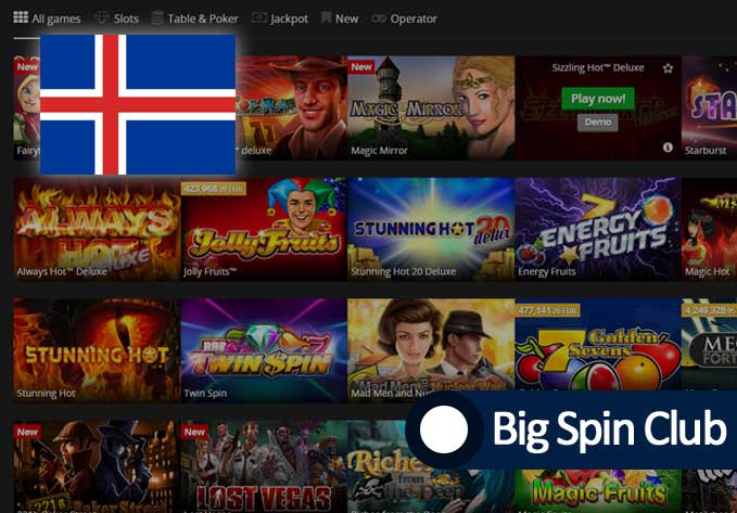 Best online casino in Iceland
