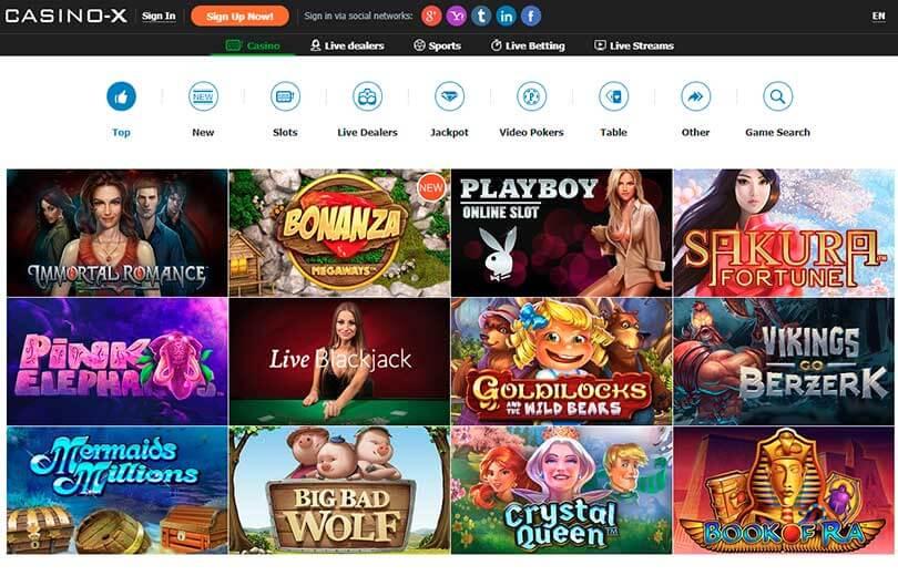 casino-x casino site review