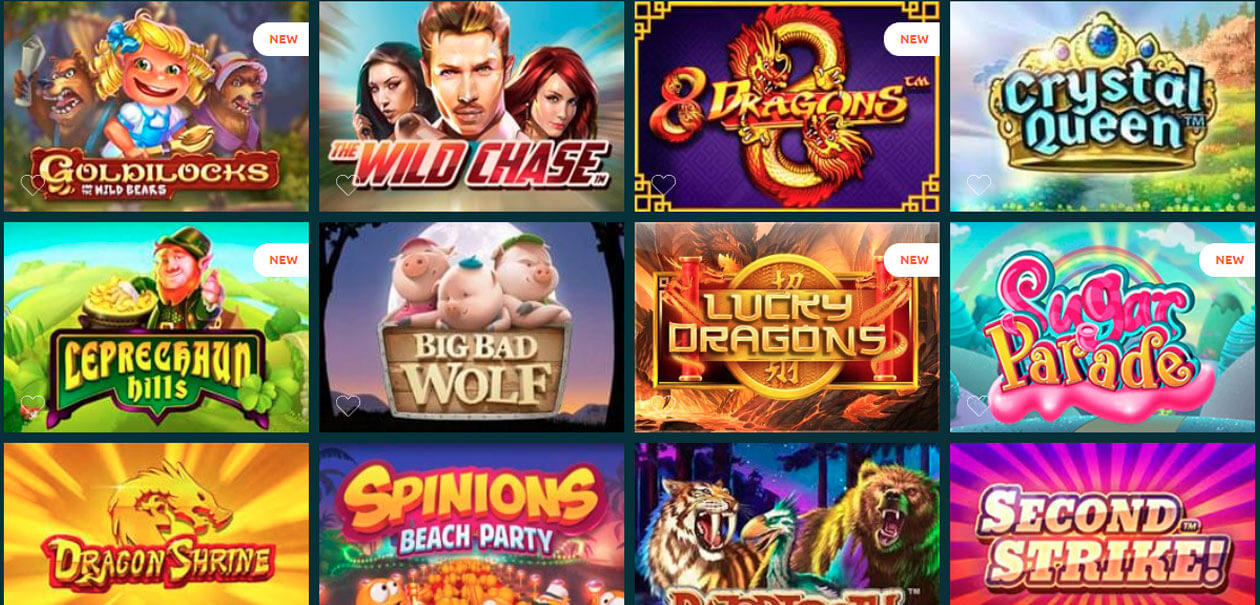 casinia casino site games example