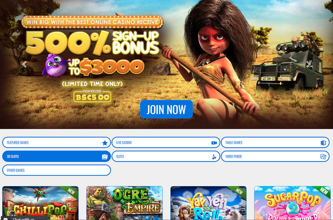 usa online casino example