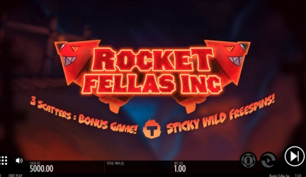 Rocket Fellas Inc slot play for free – Thunderkick
